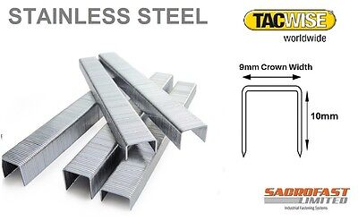 Tacwise 71/10 Stainless Steel Staples - Box 20,000