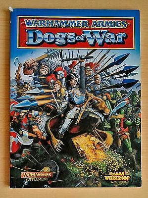 Warhammer Armies Book DOGS OF WAR Games Workshop 1998 Out Of Print