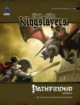 Pathfinder Module S1 Clash of the Kingslayers D&D 3.x NEW Price Inc Del in UK