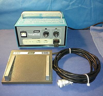 Valleylab SurgiStat B Electrosurgical Generator with Footswitch