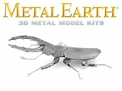 Fascinations Metal Earth Stag Beetle Insect Laser Cut 3D Model