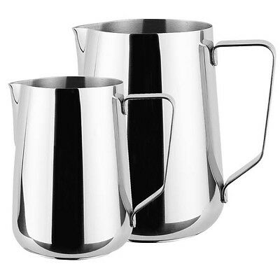 Stainless Steel Milk Frothing Jug, Lattes Cappuccino Coffee Jug
