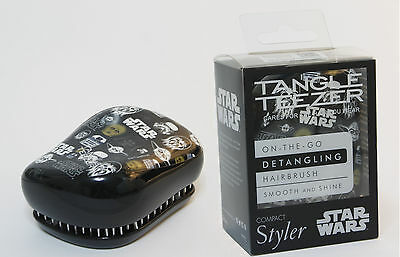 Cepillo Tangle Teezer Peine Disney Star Wars Original Hair Brush Compact Niños