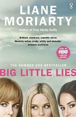 Big Little Lies: Now an HBO limited series by Liane Moriarty New Paperback Book
