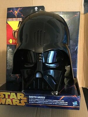 Darth Vader Voice Changer  Helmet With Phrases, by Hasbro NEW