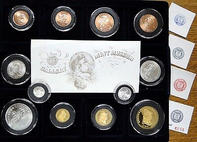 1796 Gallery Mint 12 Piece Set Includes 3 Gold Proofs