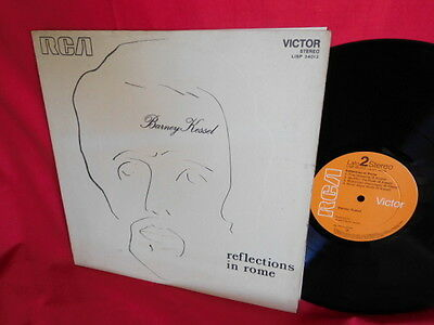 BARNEY KESSEL Reflections in Rome LP 1969 ITALY MINT-