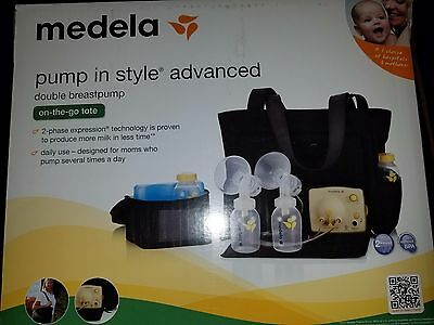 Medela Pump In Style Advanced Double Breast Pump On The Go Tote Factory Sealed