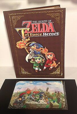The Legend of Zelda Tri Force Heroes - Collectors Edition HB Guide + Extra - New