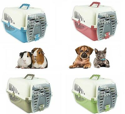 Pet Carrier For Cat Kitten Dog Puppy Rabit Portable Travel Transport Box Cage