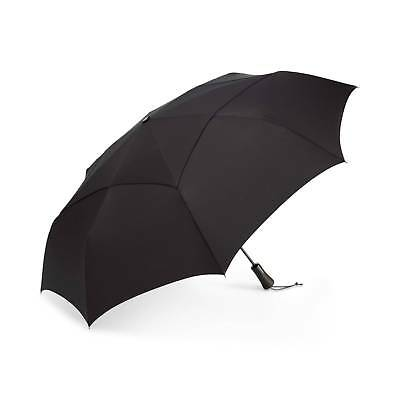 $98 Shedrain Windpro Black Arc Sun Canopy Rain Auto Open Close Jumbo Umbrella