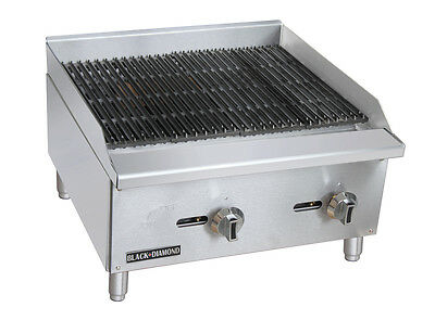 Stainless Steel Standard Series Gas Charbroiler 24″
