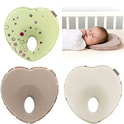 ABCmall Newborn Baby Anti Roll Head Shaping Pillow, Preventing Flat Head Neck