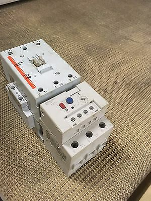 Sprecher+Schuh 60A CA7-60 Contactor  with CEP7 overload relay / 2-ext. contactor
