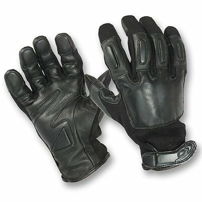 Police Force Tactical SAP Gloves Large Black