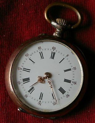 Small Swiss cylinder watch