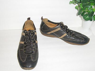 Mens Cole Haan Nike Air Casual Fashion Sneakers Brown Leather 13 M