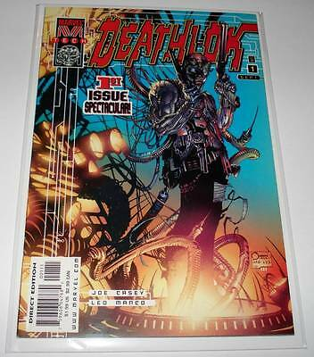 DEATHLOK # 1 Marvel Comic   Sept 1999  VFN/NM     Marvel M Tech