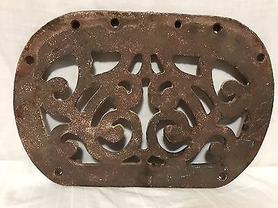 Vintage Cast Iron Bench Seat Or Table Top