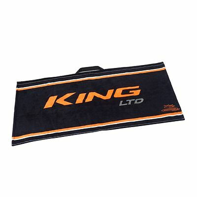 Cobra King Golf Towel -Black/orange- New 2017