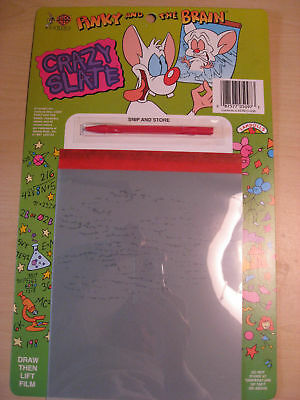 Warner Bros. Pinky & the Brain Crazy Slate 1997