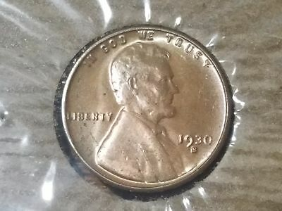 1930 S Lincoln Cent Penny 1c BU