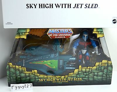 MOTUC, Sky High with Jet Sled, Masters of the Universe Classics, sealed box MISB