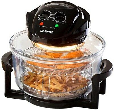 Daewoo Halogen Oven with 17L Capacity, Efficient And Thorough Heating
