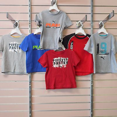 Puma Toddler Boys Size 3T Assorted Short Sleeve Shirts