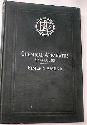 1907 Laboratory Supplies Chemical Appartus Catalog Apothecary Centrifuge Bottles