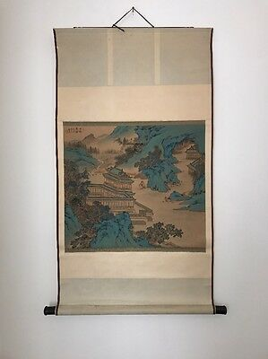 Very RARE Chinese Scroll Hand Painted Antique Art