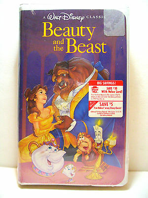 Beauty and the Beast VHS 1992 DISNEY BLACK DIAMOND CLASSIC NEW FACTORY SEALED
