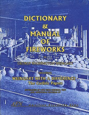 Dictionary & Manual of Fireworks by George Washington Weingart