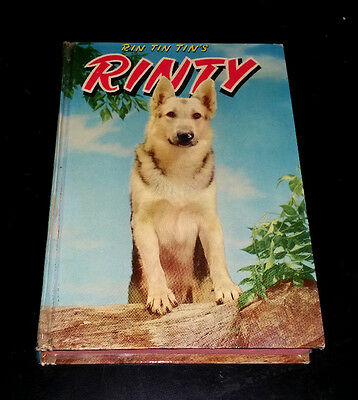 Rin Tin Tin's Rinty : Son of the famous movie dog, Rin Tin Tin (1954, Hardcover)