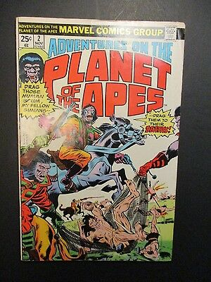 Marvel Planet of the Apes Issue # 2 / Captive Humans Vintage Old Comic 1975