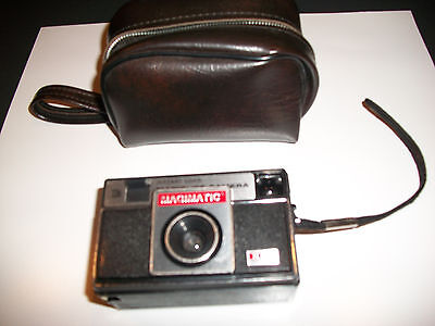 old Magimatic 126 Magicube X50 camera with case