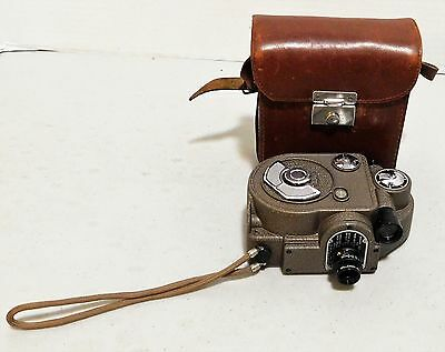 1930s Revere Model 88 Movie camera with leather case