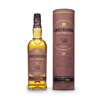 Knockando Single Malt Whisky, 18 Jahre, Schottland 0,7 L Neu