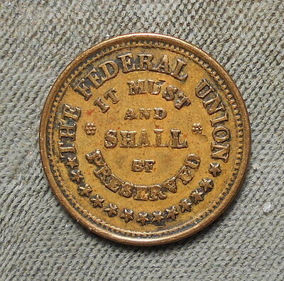 Civil War Patriotic 220/322 The Federal Union It Must And Shall Be Preserved R-1