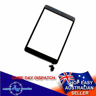 High Quality Glass Touch Screen Digitizer with IC Chip for iPad Mini 1 2 Black