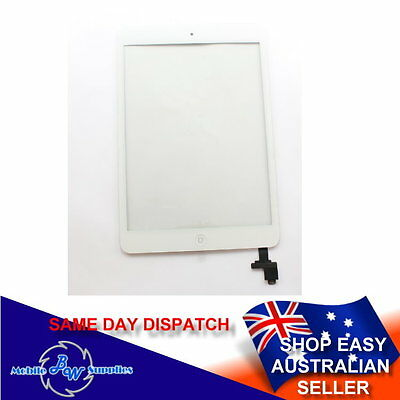 High Quality Glass Touch Screen Digitizer with IC Chip for iPad Mini 1 2 White