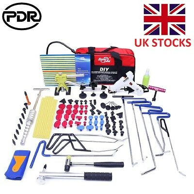 PDR Paintless Dent Removal Tail Rods Hooks Slide Hammer Line Board Hail Removal