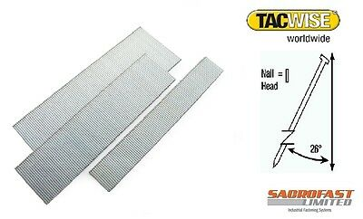 Tacwise 500 Type 18 Gauge Angled Brads (1,000) 15-50Mm
