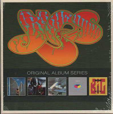 Yes Original Album Series 5 Cd Box Neu & Ovp