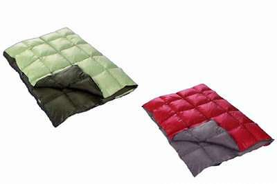 Travel blanket 130x170 cm Quilt light like a Down Camping