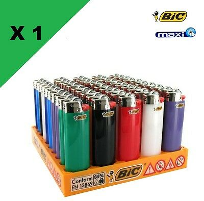 Lot de 50 Briquets BIC Maxi Grand Modèle J26 Lighter briquet grand bic