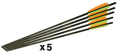 22inch Carbon Fibre Crossbow Bolts - 5 Packs of 5 - Inc Free Delivery!