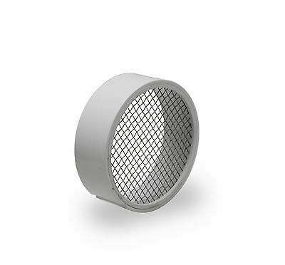 Raven R1508 PVC Termination Vent Stainless Steel Screen 2 Inch Easy to Install
