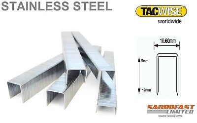 Tacwise 140 Type Stainless Steel Staples X 2 Boxes