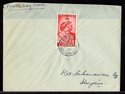 FIRST DAY COVER Envelope HARGEISA 1949 BRITISH SOMALILAND Somalia Africa